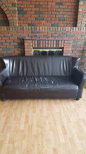 3 seater couch and queen headboard