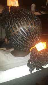 Africa hairdresser braiding hair for affordable price  Edmonton Edmonton Area image 1