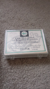 1991 draft picks  mint NFL cards limited edition certified