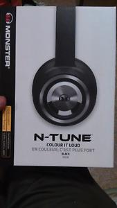 Monster N-Tune Headphones BRAND NEW IN BOX