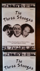 The Three Stooges 4 Volume DVD set- Brand New-20 Discs