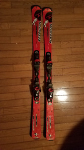 Skis Rossignol + fixations + bottes