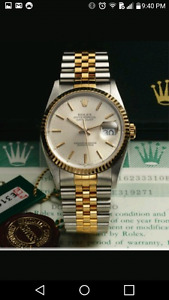 Rolex Datejust neuf pour homme swiss made