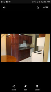 Pet friendly condo available immediately in suite laundry