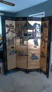 Coromandel (vintage Chinese) screen