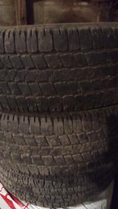 245/70/16 tires x2