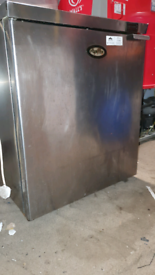 Foster commercial undercounter chiller stainless steel good condition