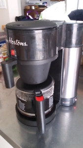 Tim Hortons stainless coffee machine