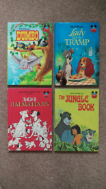 Childrens Disney books x 4