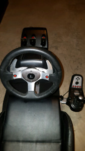 LOGICTECH G25 Gaming Wheel, Shifter & Pedals