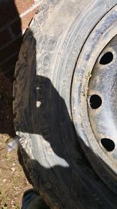 225 60 r 16   240$ all 4 rims n tires