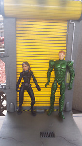 Rogue and The Green Goblin Marvel Action Figures