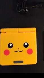 Gameboy advance sp ( Pokemon )