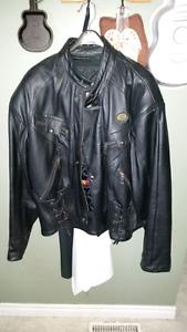 Bristol  leather motorcycle jacket size 46 XL