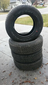 New Take Off tires