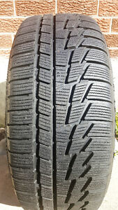 4 x P225/55R17 Nokian Winter Tire and Rims
