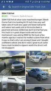 2004 f150 fx4 truck 4x4 ford fully loaded with leather