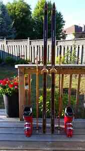 Excellent Condition - Used for one season Adult Ski Set