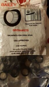 Grommets for Steel Stud - CSA Approved