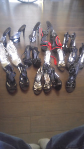 Many Pairs Of Heels
