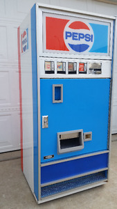 Pepsi Can Coin Operated Vending Machine