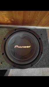 "Pioneer TS-W306C 1-Way 12"" Woofer combo"