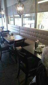 Upholstery service to restaurants booths / chairs Kitchener / Waterloo Kitchener Area image 1