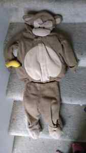 12-24 month monkey costume