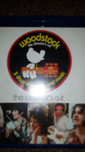 WOODSTOCK 3 DAYS OF PEACE AND MUSIC ON BLU RAY