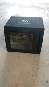 8 inch S/O powered subwoofer. 100$