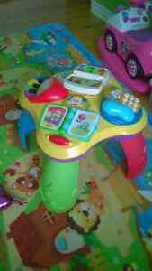 Table d'activités musicale Fisher Price Activity Table