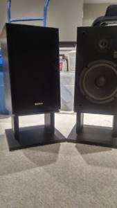 Sony SS-U 4030 Speakers and Stands