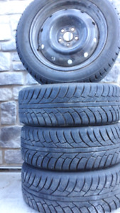 4 Tires WITH 4 Rims 205 55 R16 WESTLAKE TIRES