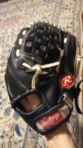 "11"" Rawlings Baseball Glove Vernon Wells Autograph Model PM125RB"