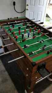 Solid Foosball Table
