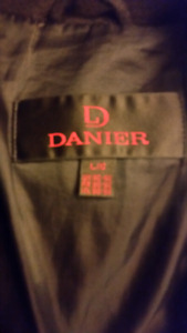 Men's lined DANIER Leather Coat