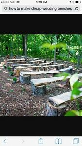 Wedding benches