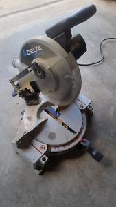 10 inch Delta Shop Master mitre saw