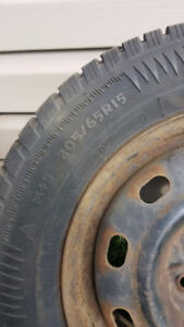 **REDUCED**205/65R15 Winter Tires  - Only used for half a season
