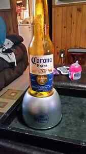 Corona bubbler light.