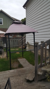 Barbecue Gazebo with Solar light