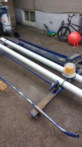 Ladder rack, work material roof rack Chevy express van