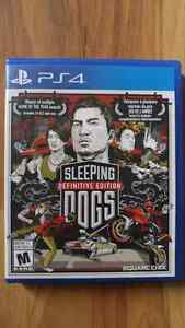 Sleeping Dogs Definitive Edition PS4 comme neuf