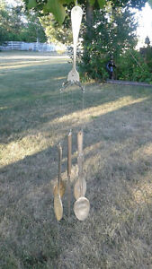 SILVERPLATED WIND CHIMES Peterborough Peterborough Area image 1