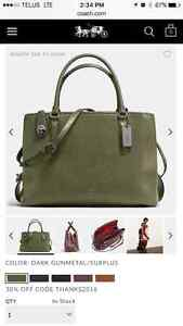 Selling Coach Purses 20% Off  - New, Packaged, with Tags London Ontario image 7