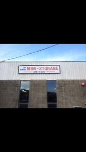 Mini storage located on the north shore 12th, call number listed