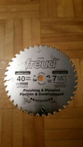 """lame finition freud 7 1/4"""" 40 dents made in italy"""