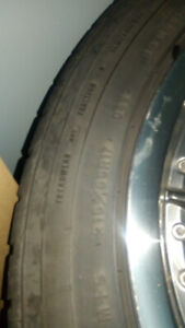Mags et pneus good year bolt pattern 5 fois 114.3