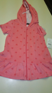 Girls 4/5T Bathing suit cover up..BRAND NEW WITH TAGS
