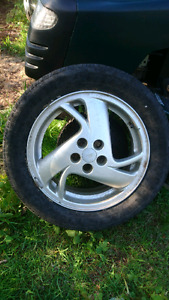 "4 16"" aluminum rims off sunfire"